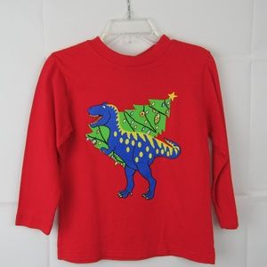 Baby T-shirt Size 2 Red Long Sleeve by Flap Happy